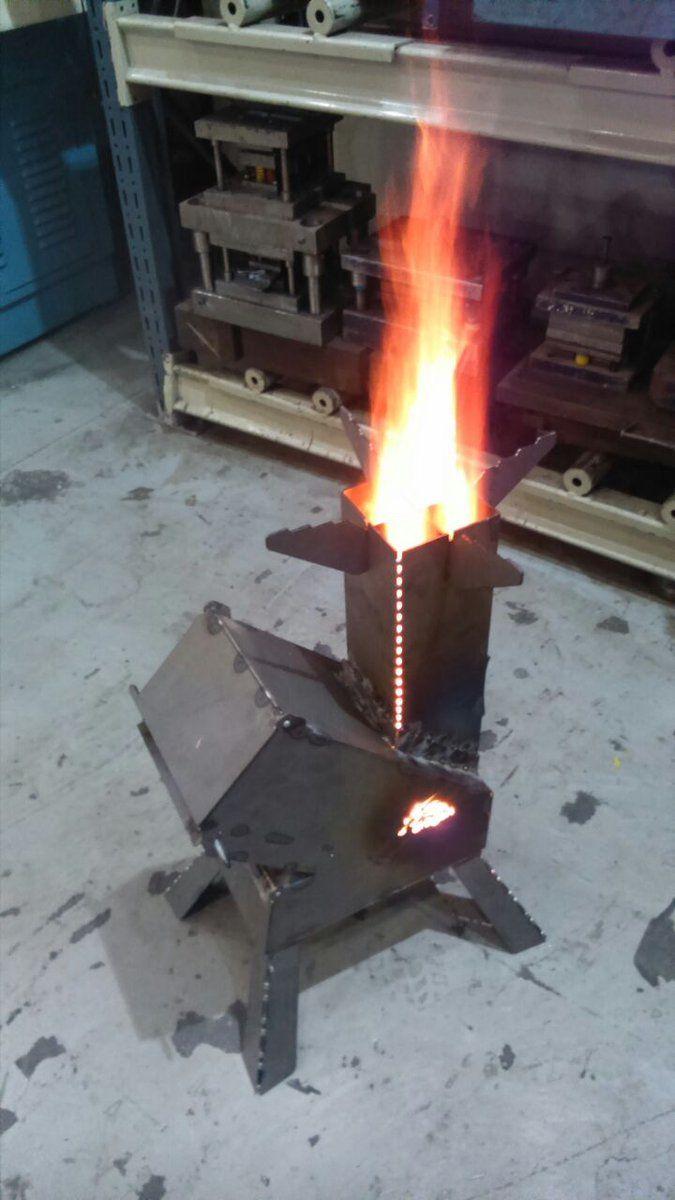 Resultado De Imagen Para Medidas Rocket Stove Diy Lampen Rocket Stove Lampen