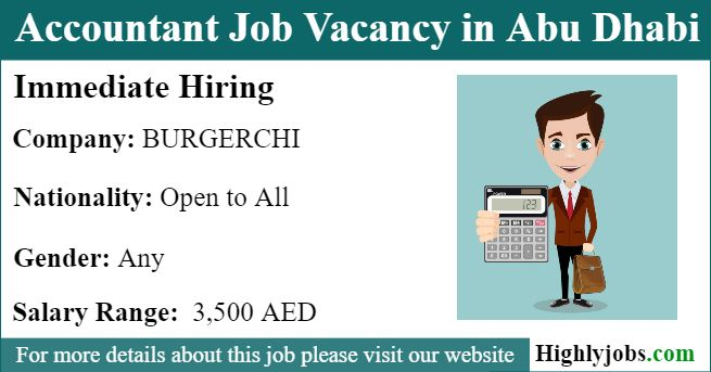Accountant Job Vacancy In Abu Dhabi With Images Accounting