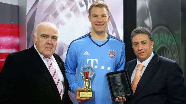 Manuel Neuer named European and World Athlete of the Year - 20.5.15. Congrats, Manu, you more than deserved this.