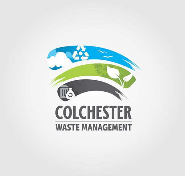 waste management company on Behance
