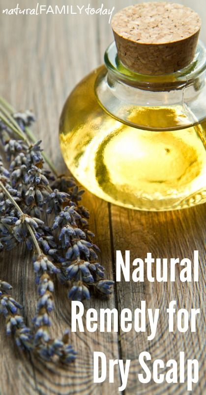 Natural Remedy for Dry and Itchy Scalp : Dry scalp treatment - naturalfamilytoday.com