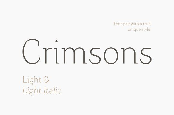 Crimsons is unique and very unusual font, it combines modern grotesque, medieval motifs and serif proportions. #fonts #slabserif #serif #font #typefaces #sansserif #sans