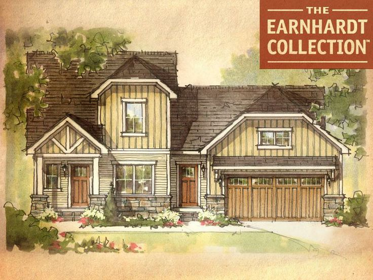 63 best the earnhardt collection images on pinterest for Custom dream home plans