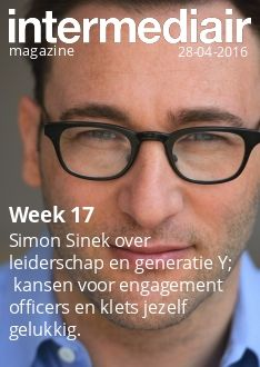 Simon Sinek over leiderschap en generatie Y;  kansen voor engagement officers en klets jezelf gelukkig.