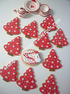 Christmas cookies.  Las galletas de Sofía.