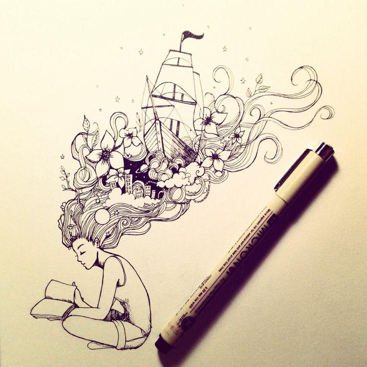 Micron Pen Doodles. | My Personal Designs | Pinterest