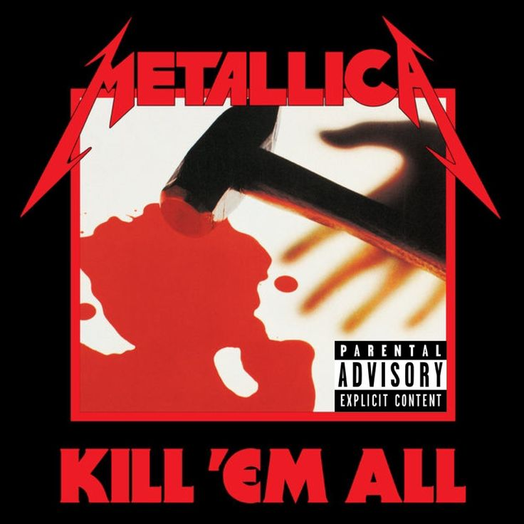 Metallica — Kill 'Em All (Jul 25 1983)