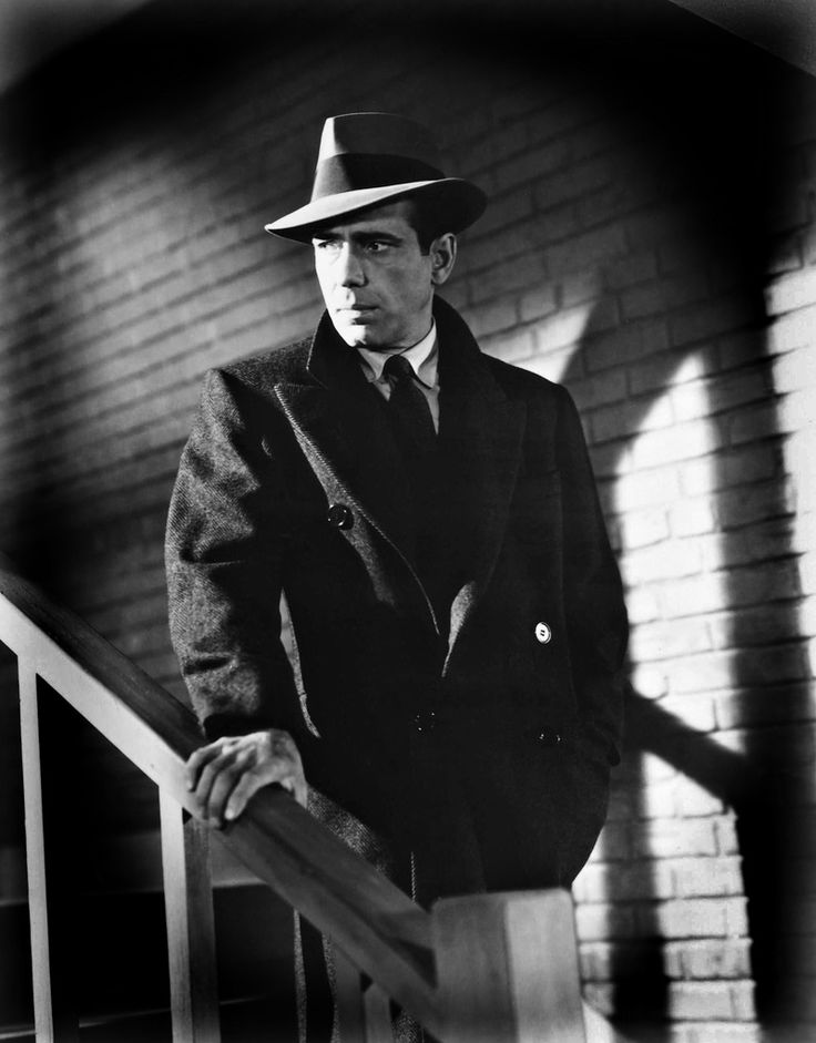 Humphrey Bogart as Sam spade in the Maltese Falcon