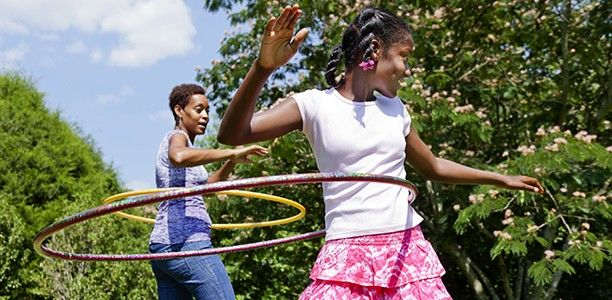 7 things to do with a hula hoop - Active for Life