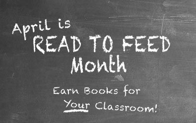 Teachers: Earn FREE books for your classroom with Heifer International's #ReadtoFeed month.