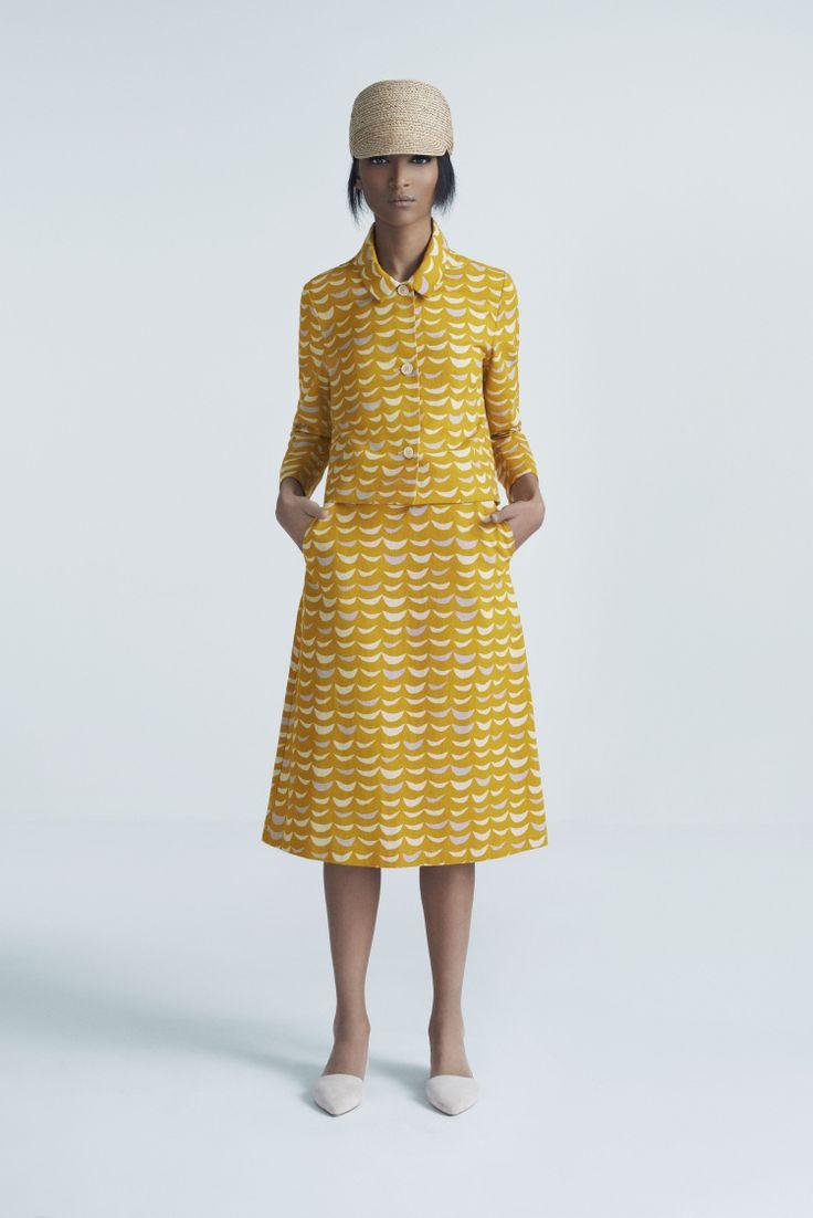 Safa Cap, Lapidus Jacket and Briana Skirt | Samuji Pre-Fall 2014 Collection