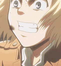 That is one seriously dramatic salute. | Attack on titan, Anime, Titans