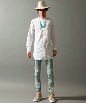 メンズ「ロング丈シャツ」着こなしとおしゃれなコーディネート集 - NAVER まとめ