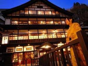 銀山温泉 古勢起屋別館 :木造3層づくりの大正ロマン溢れる宿♪日暮れにはガス灯がともる街並みにため息…