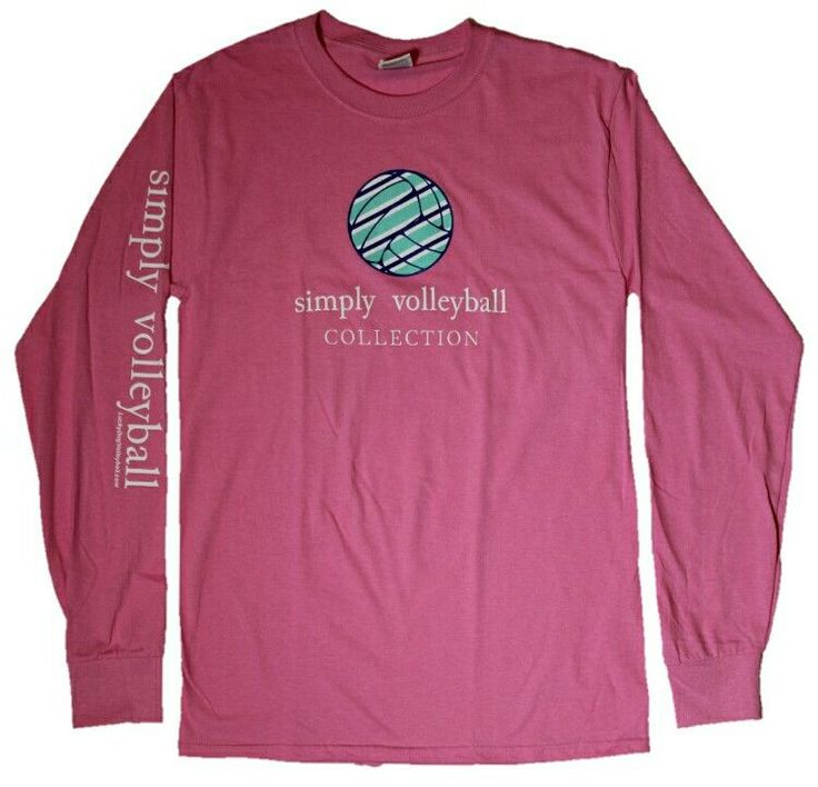 Do You Simply Love Volleyball? This Simply Volleyball Long Sleeve T Shirt  Is A
