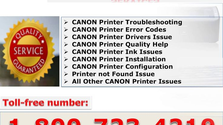 Canon printer technical support help 1 800 723 4210