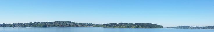 View of Seattle's Seward Park from Meadow Lane on Mercer Island
