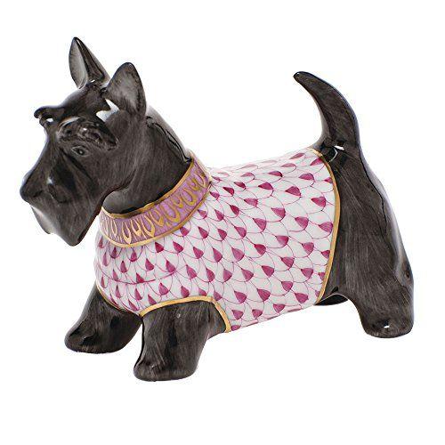 Herend Scottie McDuff Dog Figurine Raspberry Fishnet Herend https://www.amazon.com/dp/B00VIQE1CI/ref=cm_sw_r_pi_dp_x_7vVyybMKE78Z0