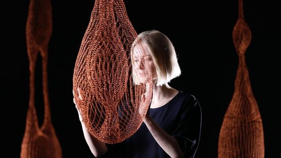 knotty- robotically knitted structures, designed