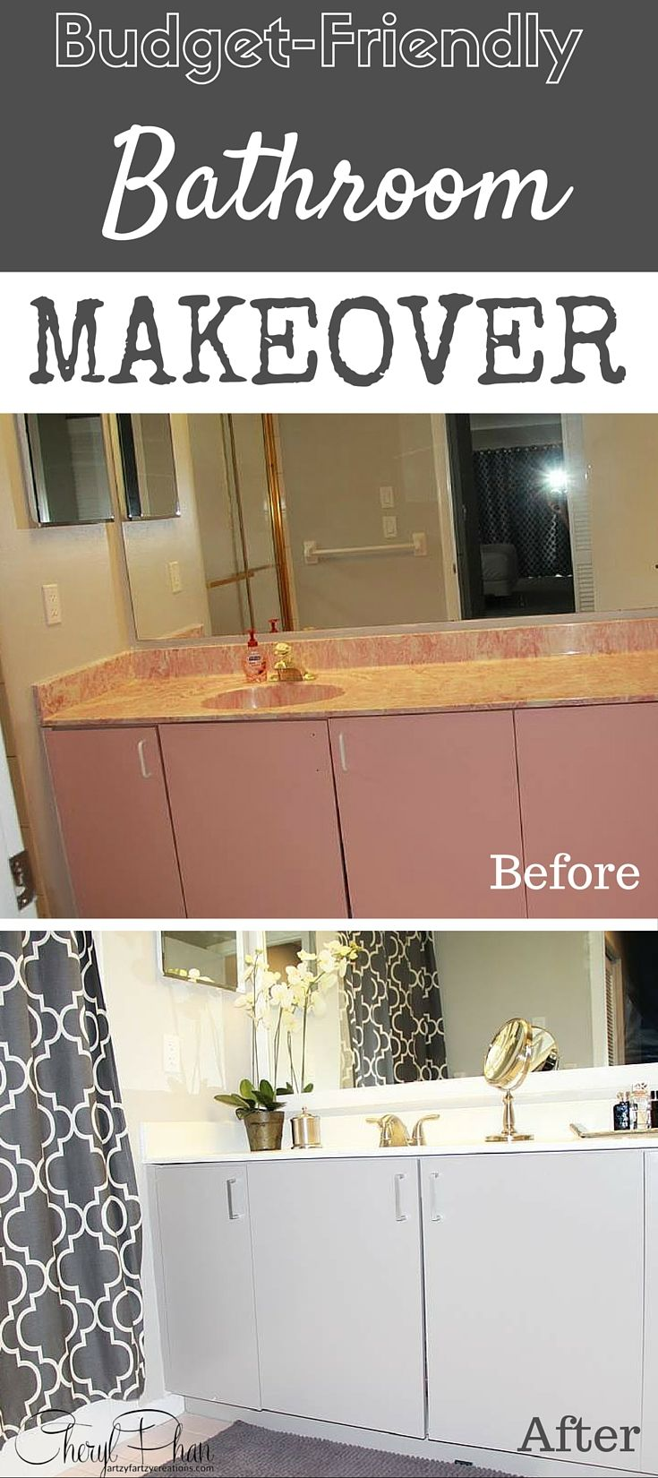 budget friendly bathroom makeover faux finish decorative painting west palm: friendly bathroom makeovers ideas