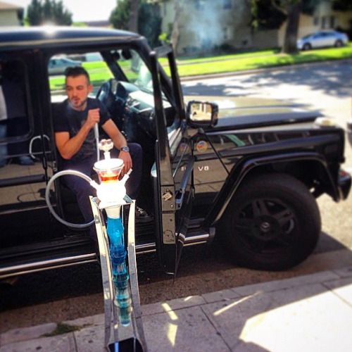 Mercedes g class and hookah come to lux lounge in west for Mercedes benz west bloomfield