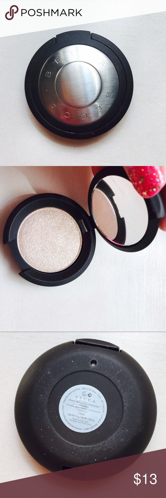 Becca Shimmering Skin Perfector Travel sized. Brand new. Shade = Opal. 2.4 grams. BECCA Makeup Luminizer