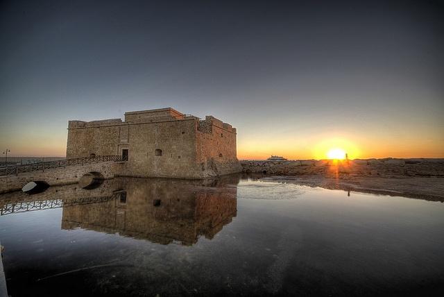 Kato Paphos Castle