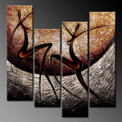 Amazon.com: Phoenix Decor-【Large Size -love Song】 Elegant Modern Canvas Art for Wall Decor Home Decorations-abstract Oil Paintings for Wall Decorations Home Decor Framed Canvas Wall Art Ready to Hang Abstract Paintings on Canvas for Wall: Oil Paintings