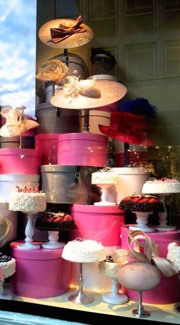 Good Evening ladies, thank you for your pins today. Tonight and Saturday, let's pin A VINTAGE MILLINERY SHOP. Enjoy!.