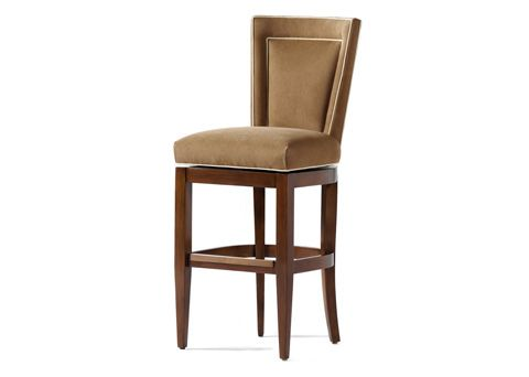 Shop for Jessica Charles Colette Memory Swivel Bar Stool and other Bar and Game Room Stools at Norris Home Furnishings in Fort Myers and Naples FL