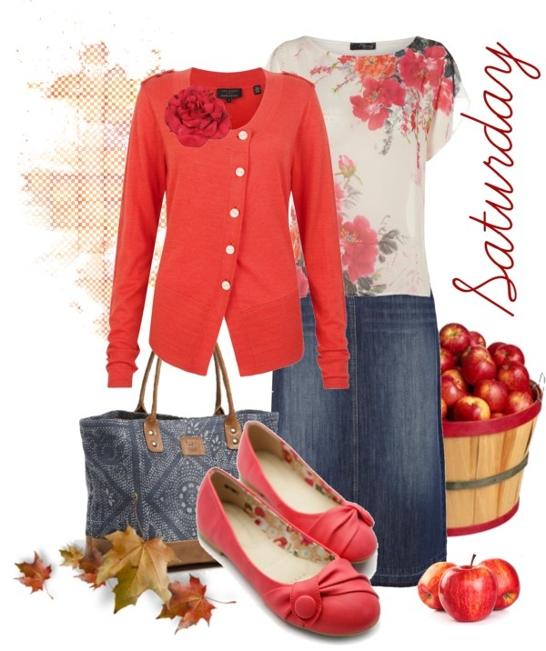 """Saturday"" by kathleen-mower ❤ liked on Polyvore"