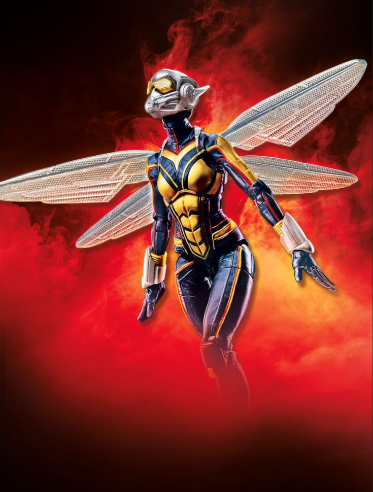 Official Ant-Man & The Wasp Marvel Legends Action Figure Images Released