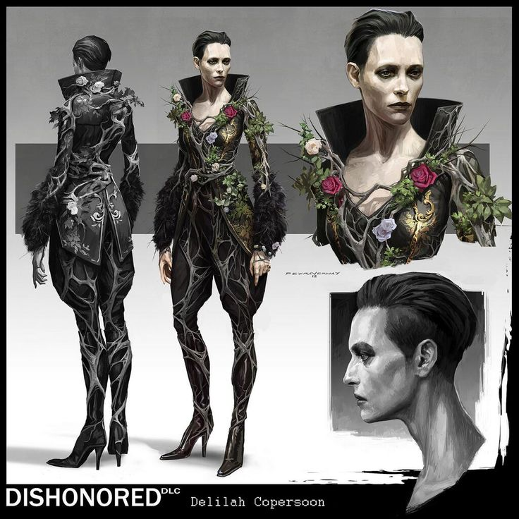 psdo:  Delilah Copperspoon | Dishonored