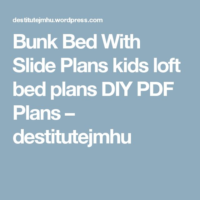 Best 25+ Bunk bed with slide ideas on Pinterest | Unique ...