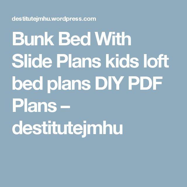 Best 25+ Bunk bed with slide ideas on Pinterest | Unique ...
