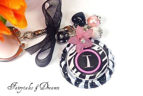 style 2INITIAL zebra print black and pink by FairyTalesandDreamz, £7.00