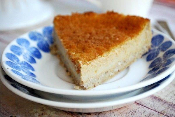 Healthy Pumpkin pie - Hälsosam Pumpapaj Fyllning: 50 gram butternut pumpa (butternut squash) ¾ dl vispgrädde 1 ägg ½ - 1 msk sötströ 1 ½ krm kanel ½ krm malen kardemumma ½ krm malen ingefära