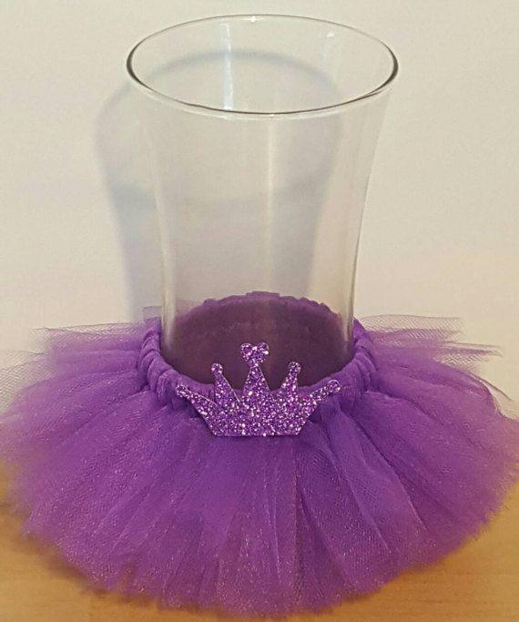 VASE TUTU princess party Purple w/ crown by ColorfulTutuFun