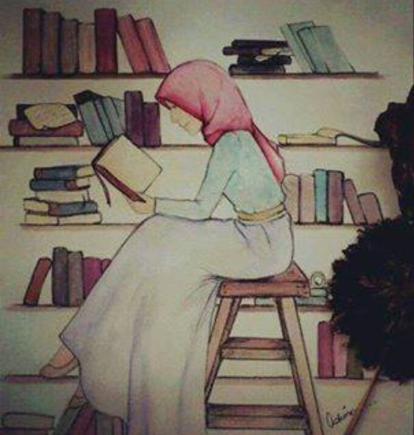 #read#book#hijab