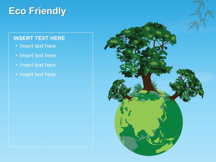Free Eco Friendly PowerPoint Template