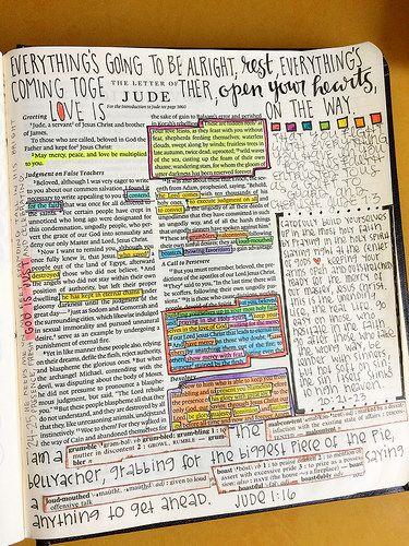 Bible Journaling - Jude