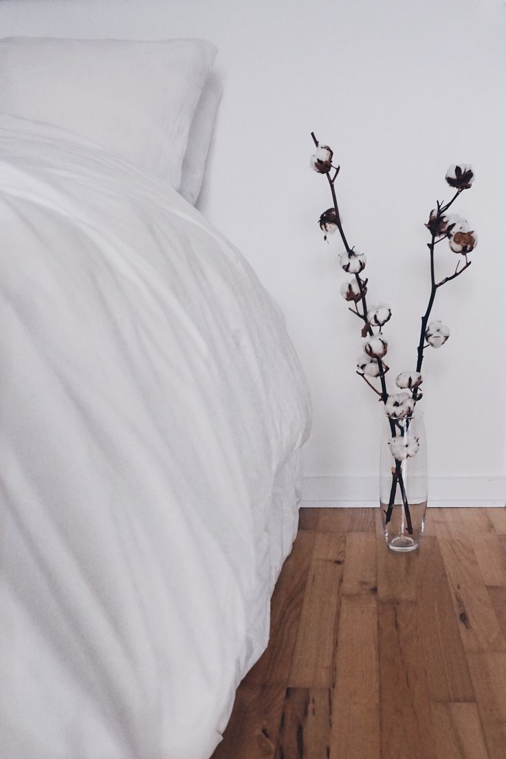 Decorating with Cotton Branches | mariacecilie.dk
