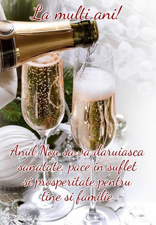 Anul Nou să vă dăruiască sănătate, pace în suflet și prosperitate pentru tine și familie.