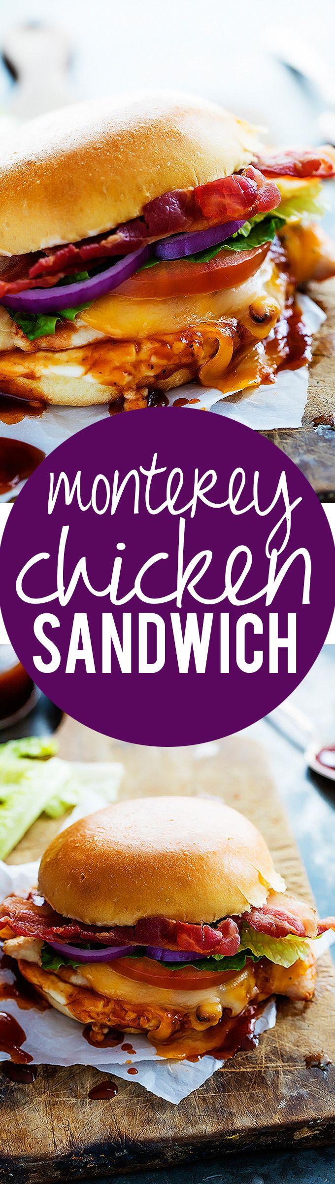 Monterey Chicken Sandwiches   Creme de la Crumb