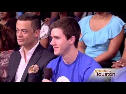 CBS Houston: 'Party' for Prostate Cancer Prevention & Education (Men's Health) - WATCH THE VIDEO.    *** cancer prevention education ***   Blue Cure Founder Gabe Canales on Great Day Houston interviews with Great Day Houston the day before the big Blue Cure Benefit Party for a Cure at Hotel ZaZa. College Athlete & Blue Cure volunteer Barrett Lauer and Hotel ZaZa's Spencer Lane...