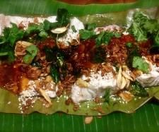 Recipe Steamed Thai Fish with Sticky Sauce and crunchy garnishes by lushcook - Recipe of category Main dishes - fish