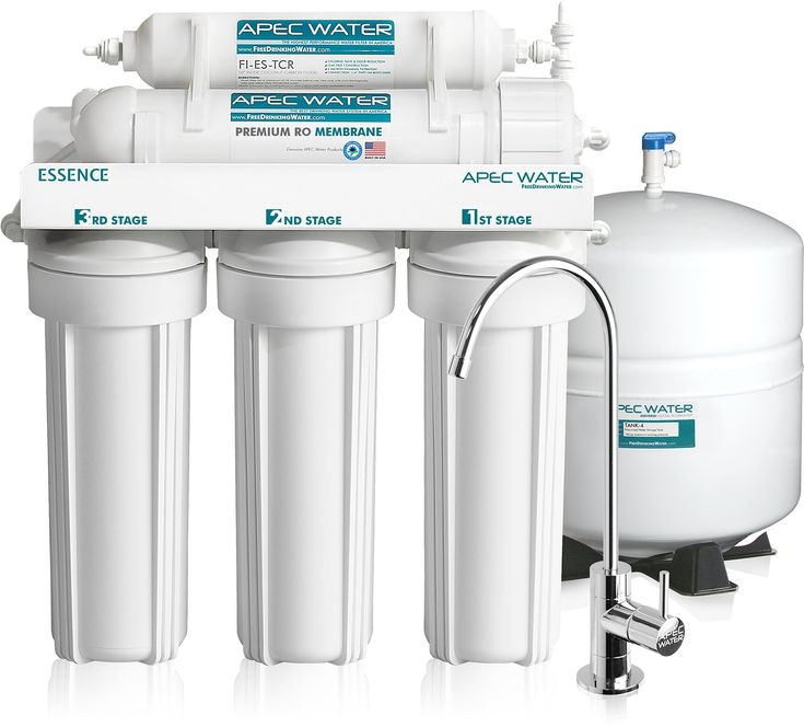 MS Top Tier 5 Stage Reverse Osmosis Drinking Water Filter System + Booster Pump