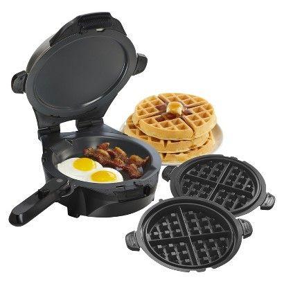 Hamilton Beach Breakfast Master™ Skillet and Waffle Maker- 26046