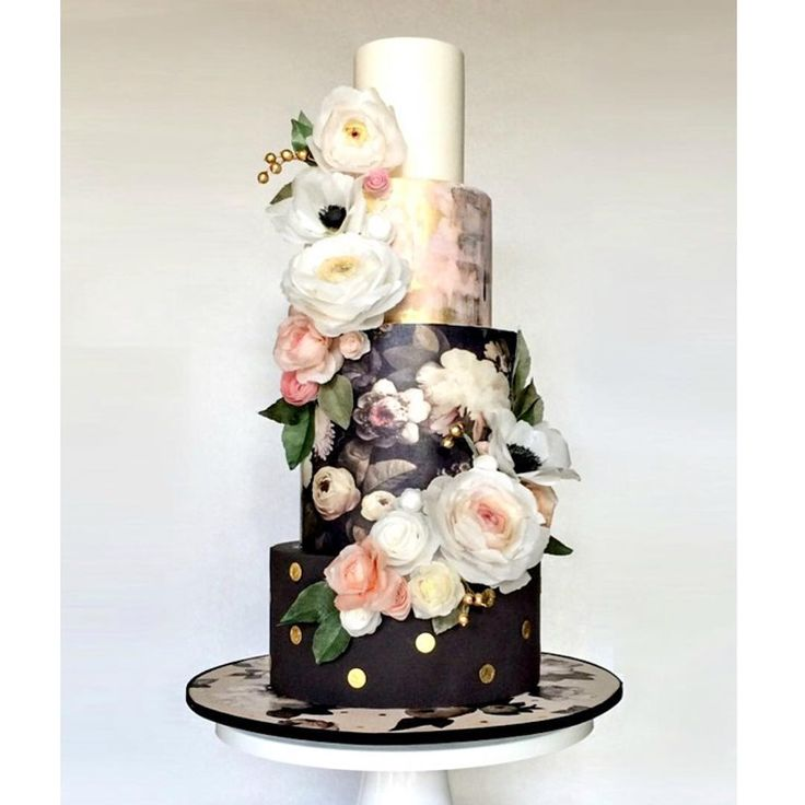 This cake is almost too pretty to eat! Cake by @heytherecupcake_  #weddinginspiration #weddingcake #cake See the #dmeventsny #wctakeover here!