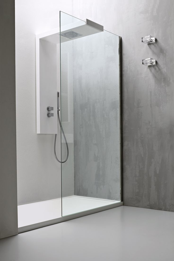 Best 25 glass shower panels ideas on pinterest glass for Glass wall panels bathroom